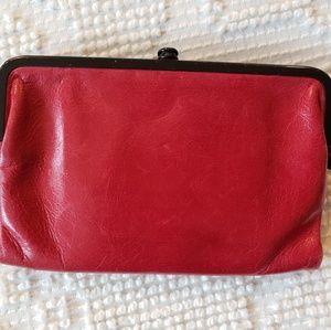 Red HOBO wallet